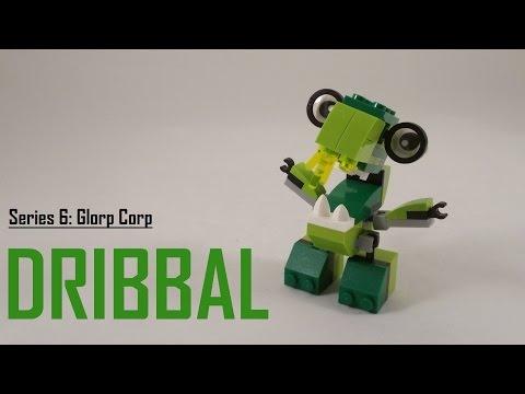 Vidéo LEGO Mixels 41548 : Dribbal