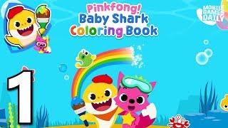 Baby Shark Coloring Page 免费在线视频最佳电影电视节目 Viveos Net