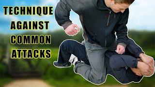 Self-Defense technique against common attacks