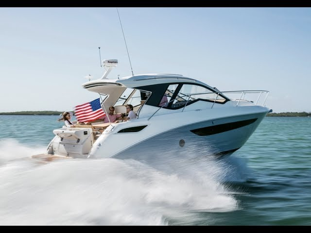 Overview: 2019 Sea Ray Sundancer 350 Coupe Sport Cruiser Boat