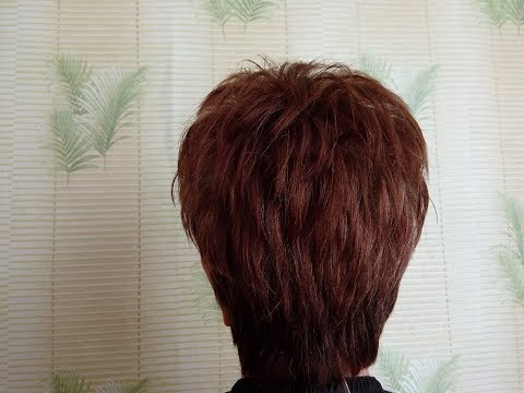 Начес на короткие волосы