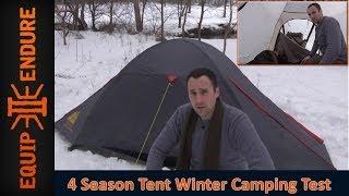 High Peak Hyper Light 4 Season Tent Test, Part 1 by Equip 2 Endure