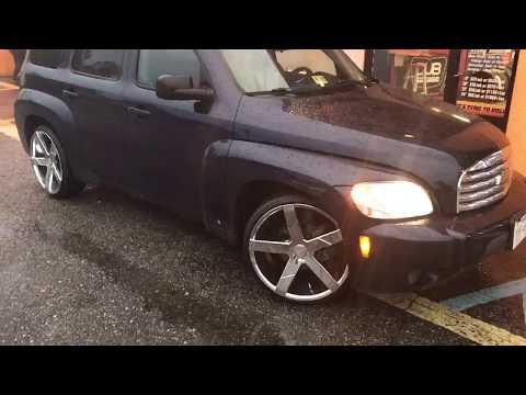 "2009 Chevrolet HHR Sitting on CHROME 20"" KRONIK GHOST'S with 225/30-20 Lexani tires"