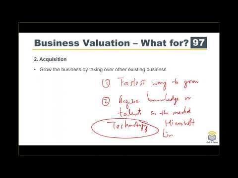 ACCA F9 Course Business Valuation 01 Introduction - YouTube