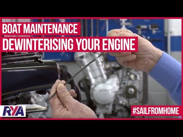 Boat Maintenance -  De-Winterizing your Engine - Top Tips from Suzuki Marine