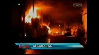 Heboh  Pabrik Styrofoam Di Tangerang Habis Terbakar 30 September 2013