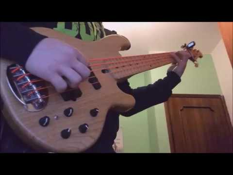 Manowar - Guyana (cult of the damned) bass cover