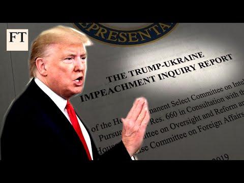 House releases Donald Trump impeachment report | FT