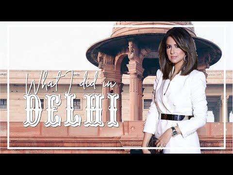 DELHI OUTFIT DIARY & HOUSE TOUR   Travel Vlog   JASMINA PURI
