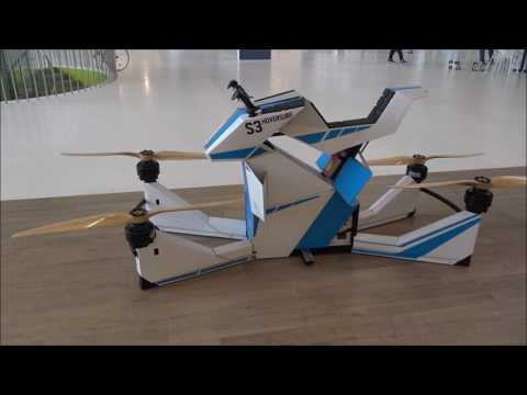 S-3 HOVERBIKE walk around