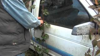 (HD) How to open a Chevy S10