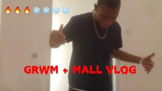 GRWM// MALL VLOG