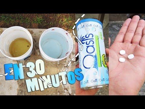 50 Unidades Pastillas potabilizadoras de agua Oasis