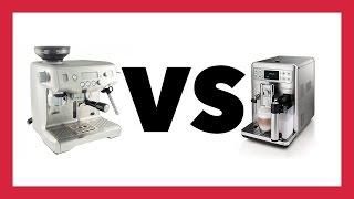 Breville Oracle vs. Saeco Exprelia Evo | CR Comparison