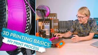 3D Printing Basics: What Printing Actually Looks Like! (Ep7)