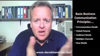 Business Communication Principles Video Tutorial
