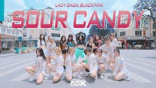 [DANCE IN PUBLIC | 1TAKE] Lady Gaga, BLACKPINK - SOUR CANDY | BLACKCHUCK CHOREOGRAPHY | Vietnam