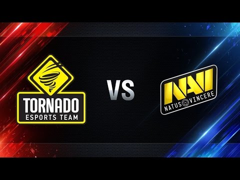 World of Tanks Tornado Energy vs Na`Vi [WGL] 15.01.2017