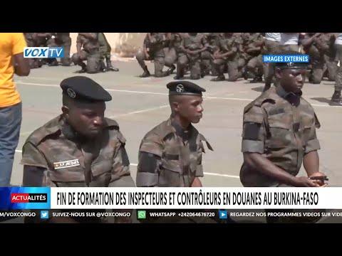 Fin de formation des inspecteurs et contrôleurs en douanes au Burkina Faso