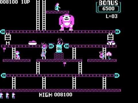 Donkey Kong - IBM PC Booter (MS-DOS) version 1983