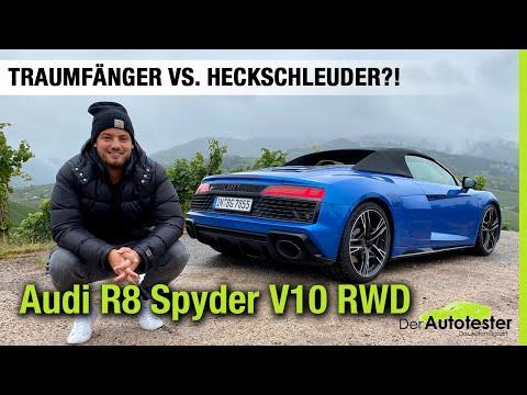 2020 Audi R8 Spyder V10 RWD (540 PS) 💙 Traumfänger vs. Heckschleuder?🤯 Fahrbericht | Review | Test