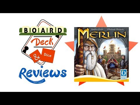 Board, Deck and Dice Review #145 - Merlin