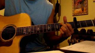 Carry me Home - Aaron Shust - HOW TO PLAY ON ACOUSTIC GUITAR