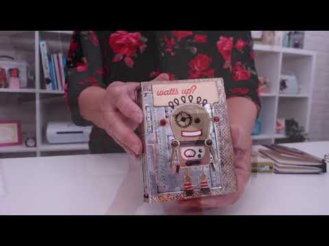 How to Create Your Own Notebook With Sizzix Die by Eileen Hull
