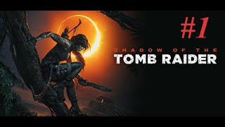 Shadow Of The Tomb Raider - Part 1 Cozumel Caves #1