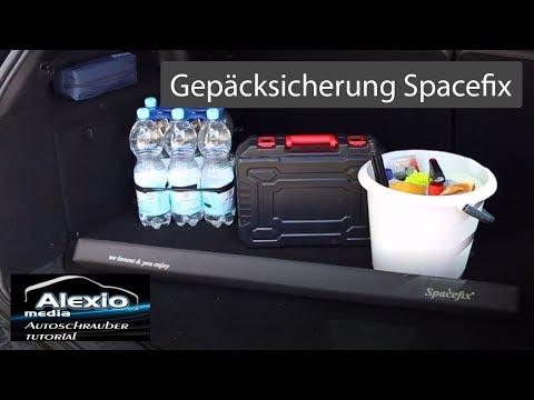 Spacefix Gepäckfixierung und Kofferaumabteilung  Review