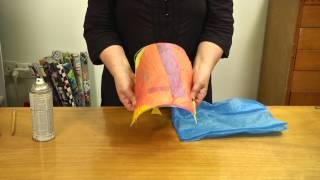 חני אורן | איך עושים אהיל שקיות ניילון מגוהצות