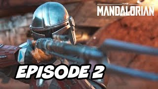 Star Wars The Mandalorian Episode 2 - TOP 10 WTF and Easter Eggs