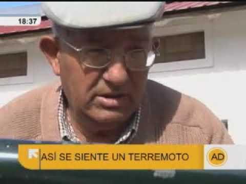 """Terremoto en Ventas de Huelma, Granada, en """"Andalucía Directo"""""""