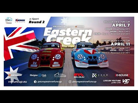 European VW e-Fun Cup powered by Hankook - Eastern Creek