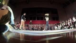 Break Dance Solo Battle-(Stefan Svajcarac)HOT HEAD vs. Benjamin Xhaferi