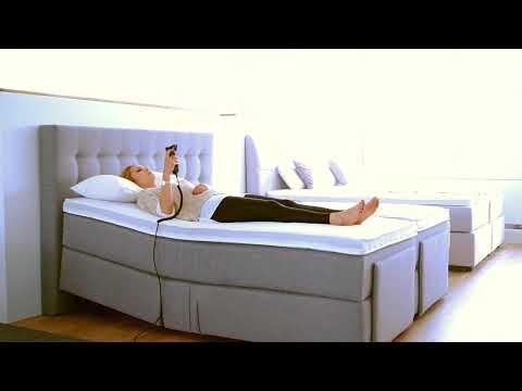 Elektrisch verstellbares Boxspringbett