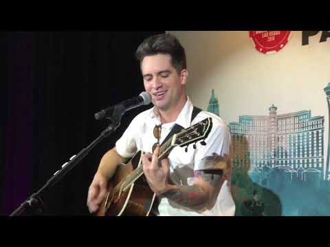 Panic! At The Disco - High Hopes Live (Acoustic) — 2018 iHeartRadio Capital One Kickoff Party