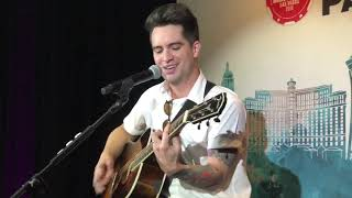 Panic! At The Disco   High Hopes Live (Acoustic) — 2018 IHeartRadio Capital One Kickoff Party