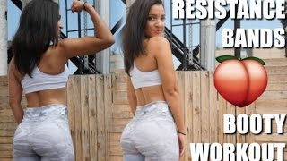 RESISTANCE BAND BOOTY WORKOUT | For Women | At Home & Gym by BODiBiDAY Fitness
