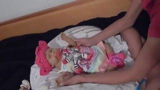 Changing Full Body Silicone Baby Sabrina