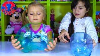 Челлендж ПЛАСТИКОВЫЙ ПУЗЫРЬ - Чей БОЛЬШЕ? Челленджи от Ярославы и Риты Challenge Magic Balloon