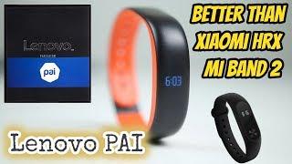 Lenovo Pai HW02 Fitness Band Better than Xiaomi MI Band HRX   Mi Band 2