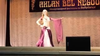 Трощенко Мария эстрадная арабская песня Ahlan bel negoom