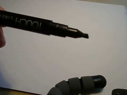 Kalligraphie mit Phantasie. Kannst auch du! Schau gerne zu!