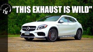 [Throttle House] The 2018 Mercedes-AMG GLA 45 is an INSANE Hatchba- uh, SUV...