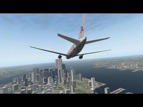 XP11 – The North Tower Strike (American Airlines Flight 11)