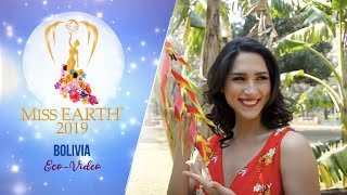 Fernanda Vaca Pereira Miss Earth Bolivia 2019 Eco Video