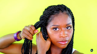 My Go To Senegalese Twists Hairstyles | Tutorial (4 Hairstyles)