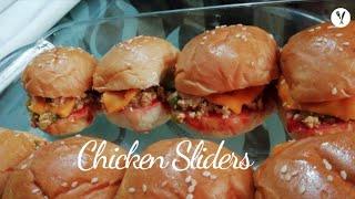 Chicken Sliders Recipe | Mini Burgers