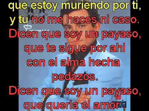Jose Jose Payaso con letra